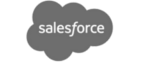 We work with Salesforce