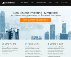 Realty Mogul - Drupal Web Development