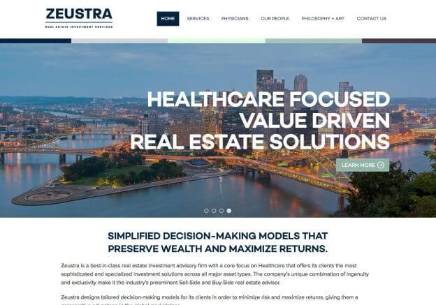Zeustra Website