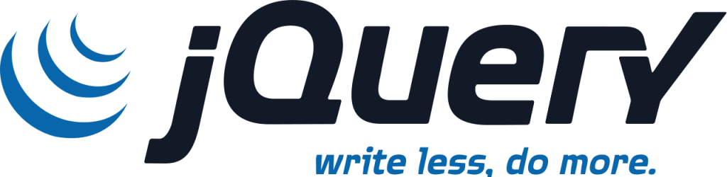 We work with jQuery