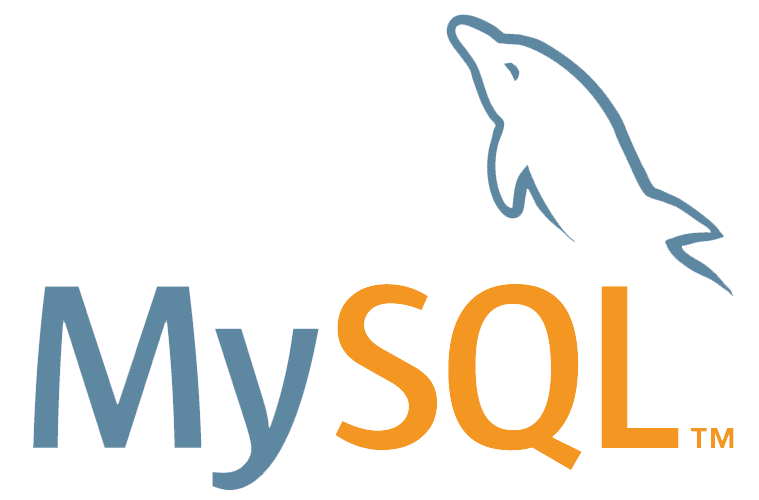 We work with mySQL