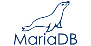 We work with MariaDB