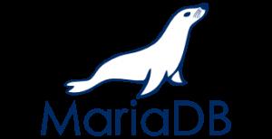 We work with MariaDB